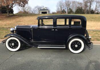 1930 Nash 4-door Sedan